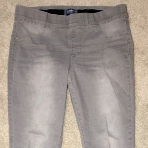 "Old Navy Mid-Rise ""Rockstar"" Stretch Jeans"